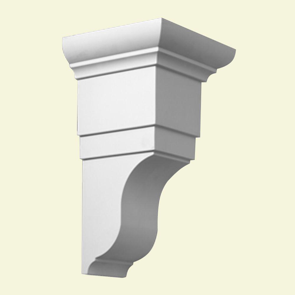 7 7/8-inch x 8 1/4-inch x 14 7/8-inch Primed Polyurethane Bracket