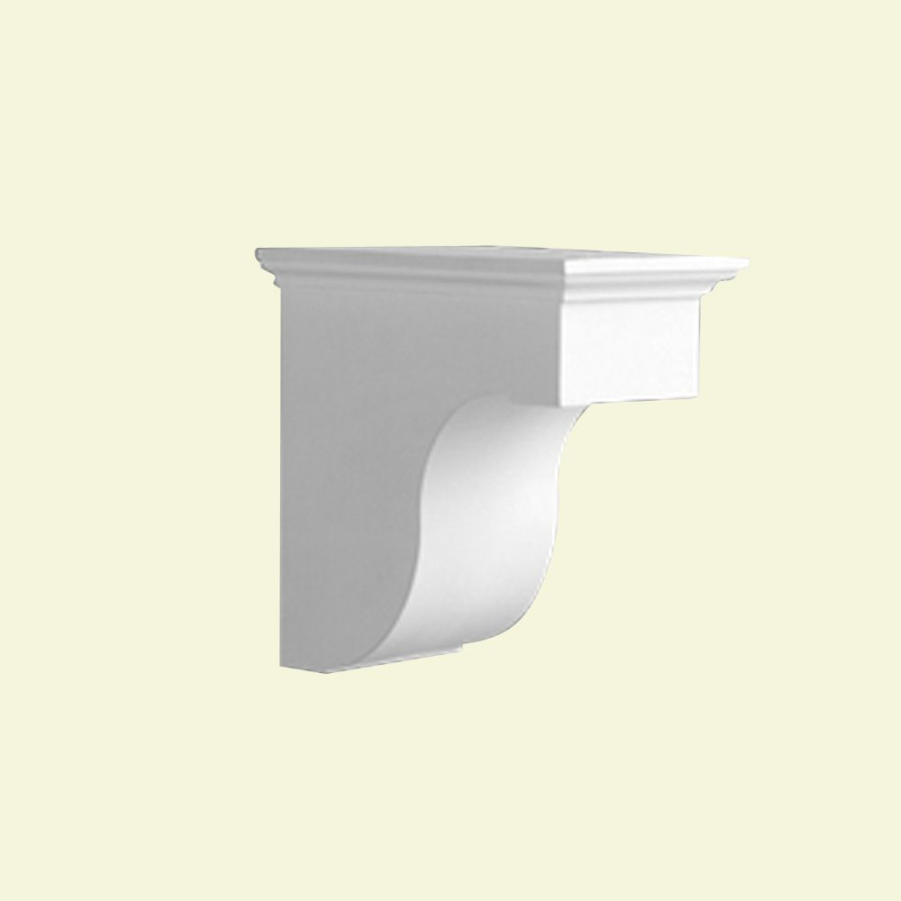 8-inch x 7 7/8-inch x 8-inch Primed Polyurethane Bracket