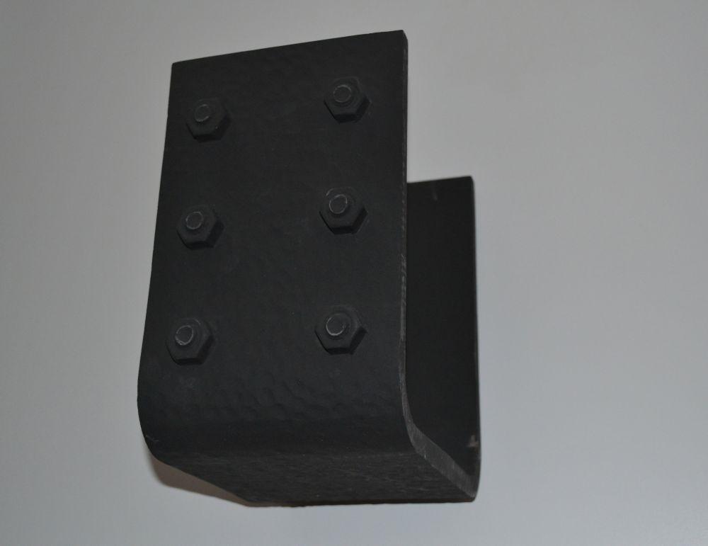 6-inch x 9 3/8-inch x 8 1/4 Beam Strap Tahoe Hammered