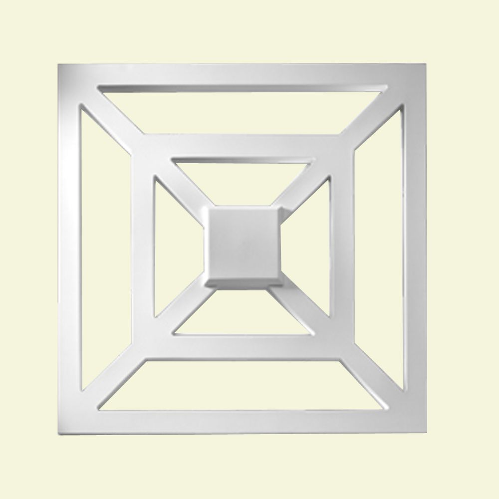 28-inch x 1 5/16-inch x 28-inch Primed Polyurethane Square Decorative Panel