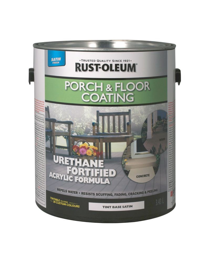Rust-Oleum Porch & Floor Coating Satin Tint Base