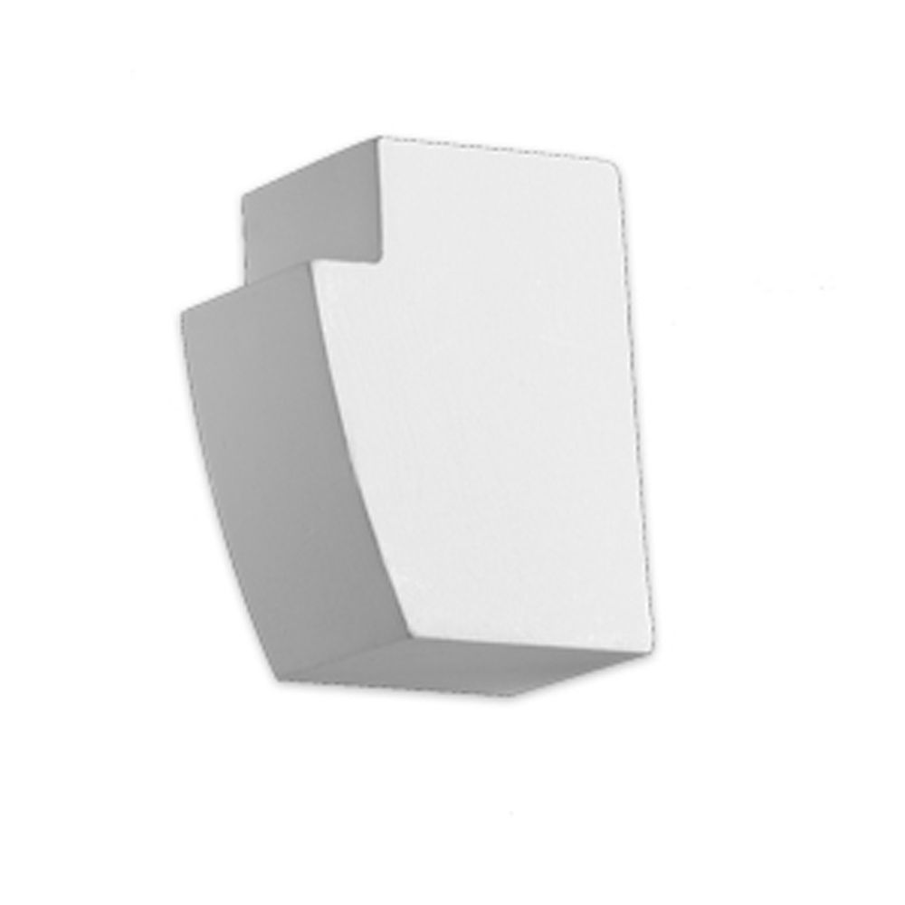 1 3/8-inch x 1-inch x 1 15/16-inch E-Vent Fill Block Smooth Moulding