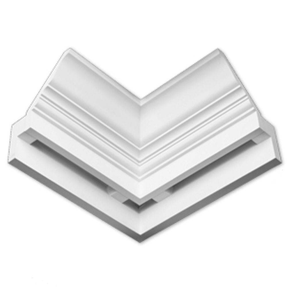 Angle interne dentelé lisse E-Vent 7-7/16 po x 17 po x 9-5/16 po