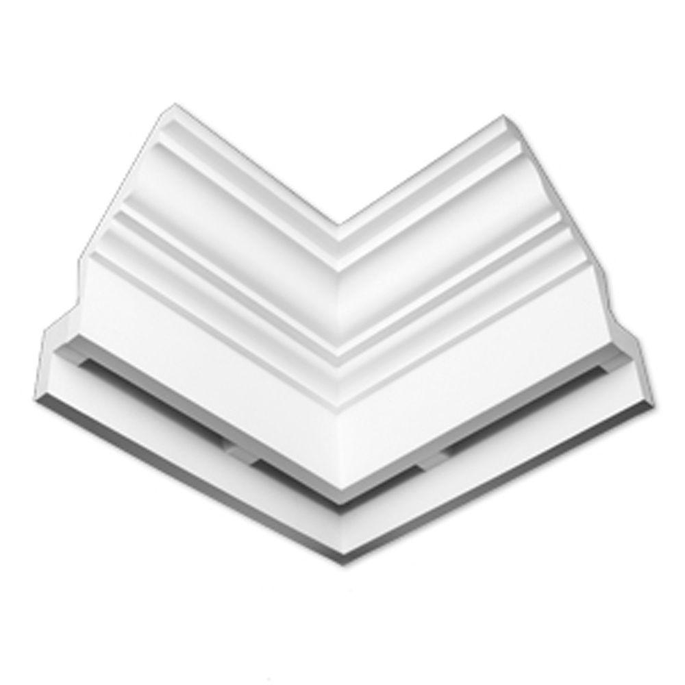 Angle interne dentelé lisse E-Vent 9-1/32 po x 21-31/32 po x 14-3/4 po