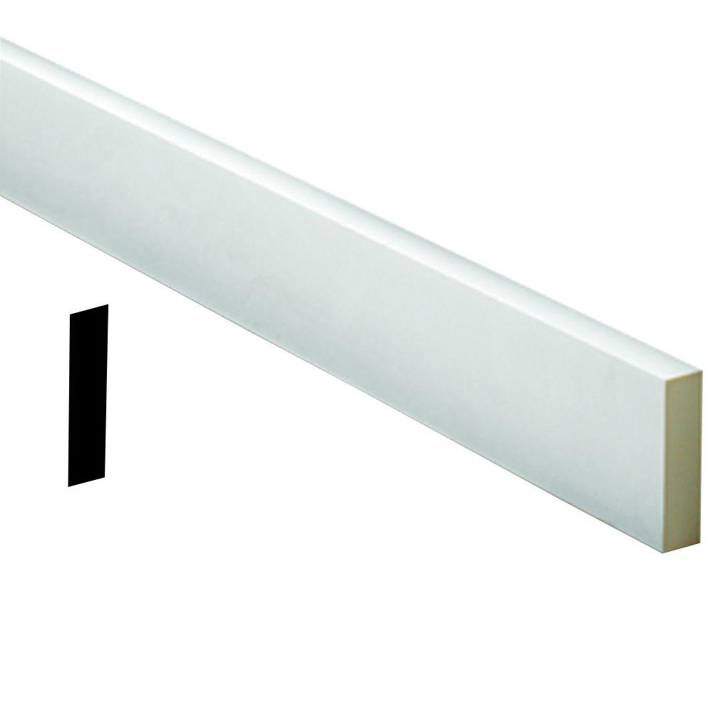 Fypon 3 4 inch x 8 inch x 96 inch primed polyurethane flat for Fypon trim