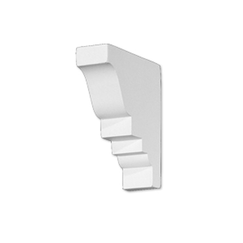 4 11/16-inch x .1 1/4-inch x 4 1/16-inch Polyurethane Mouldings Divider Block