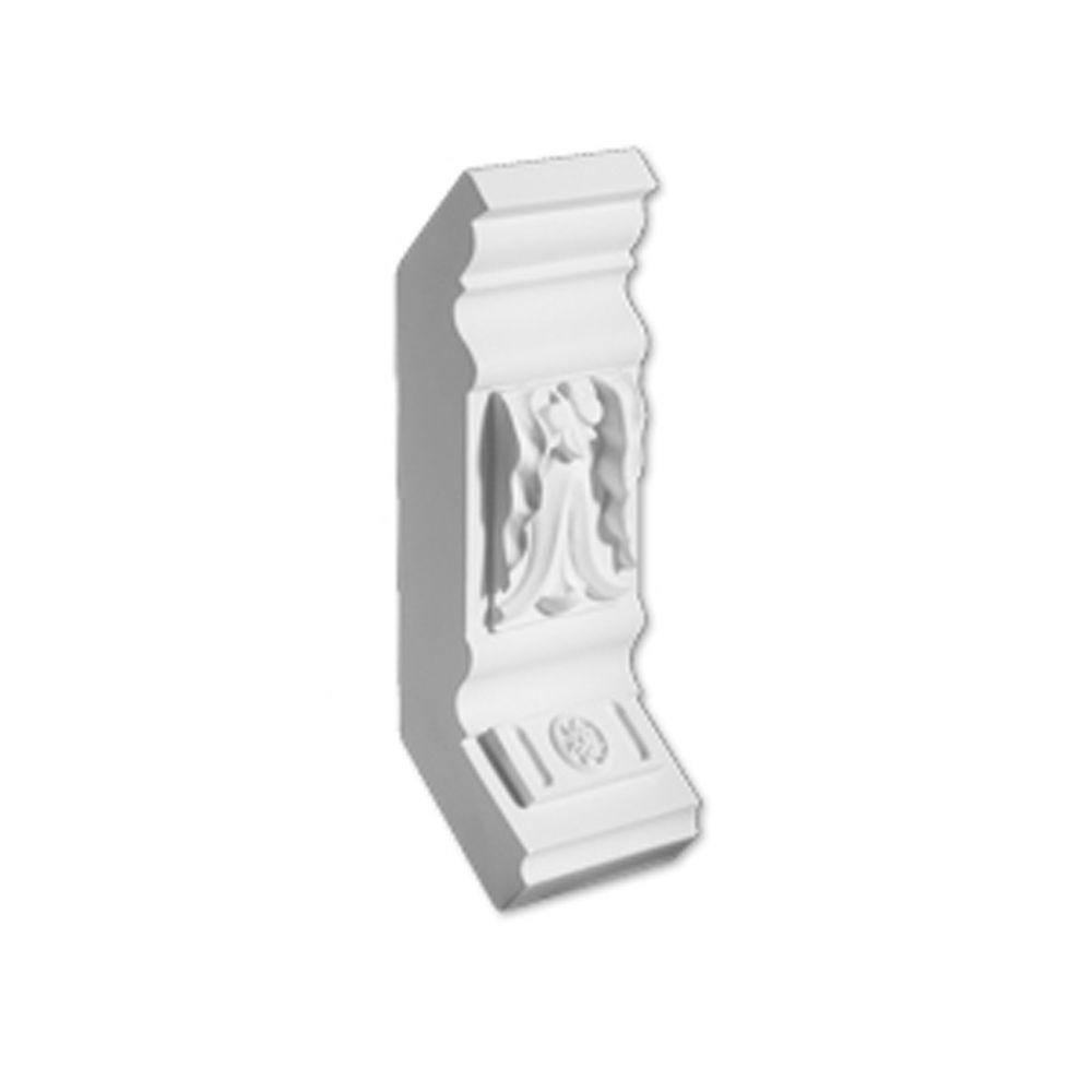 6 15/16-inch x 3 1/8-inch x 5 7/8-inch Polyurethane Mouldings Divider Block