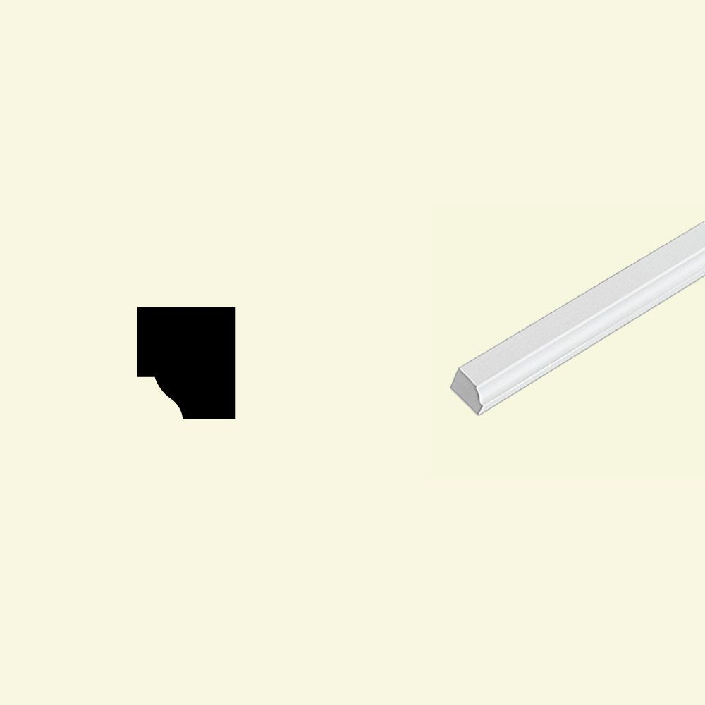 13/16-inch x 1-inch x 96-inch Primed Polyurethane Ogee Moulding