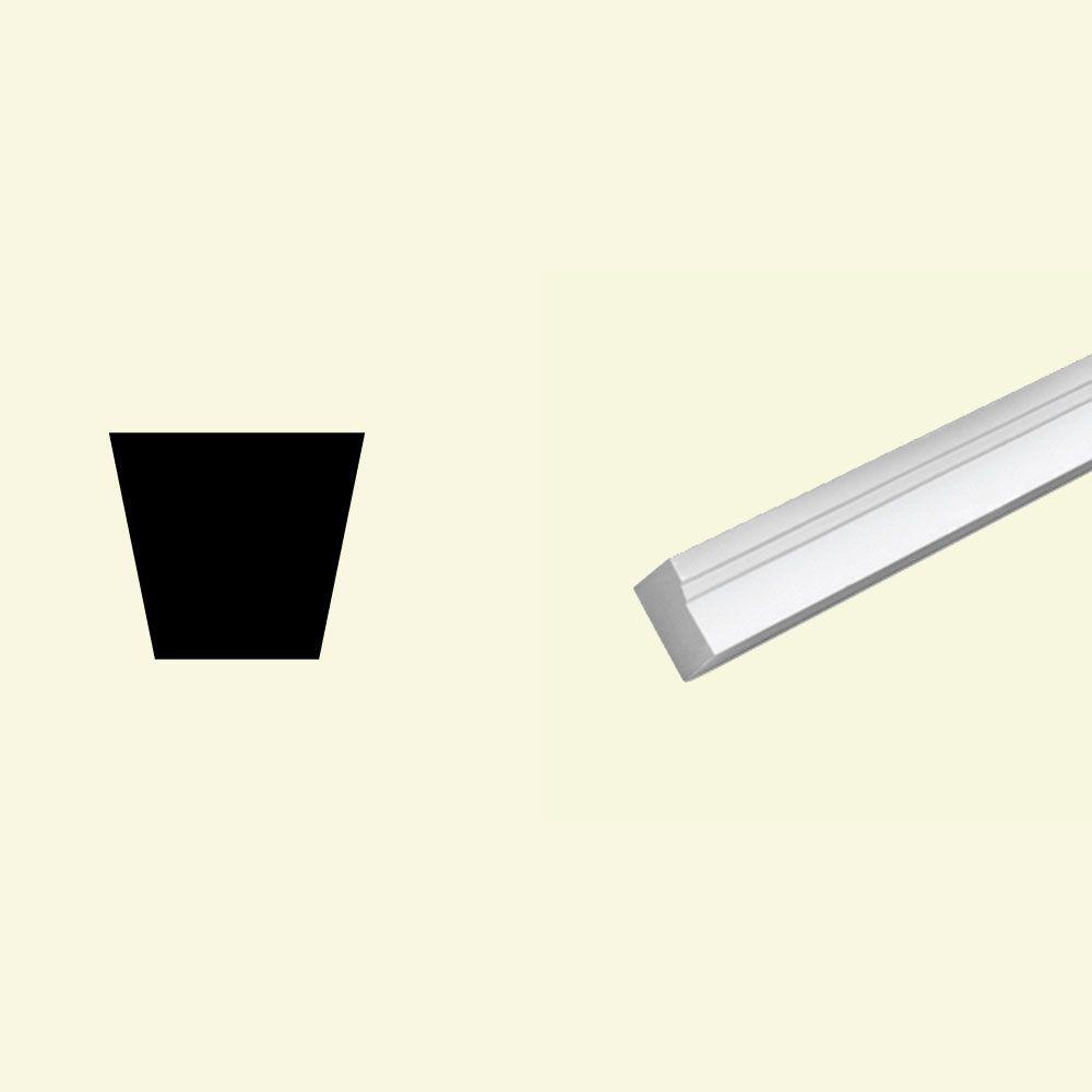 1 1/4-inch x 2-inch x 96-inch Primed Polyurethane Brickmould