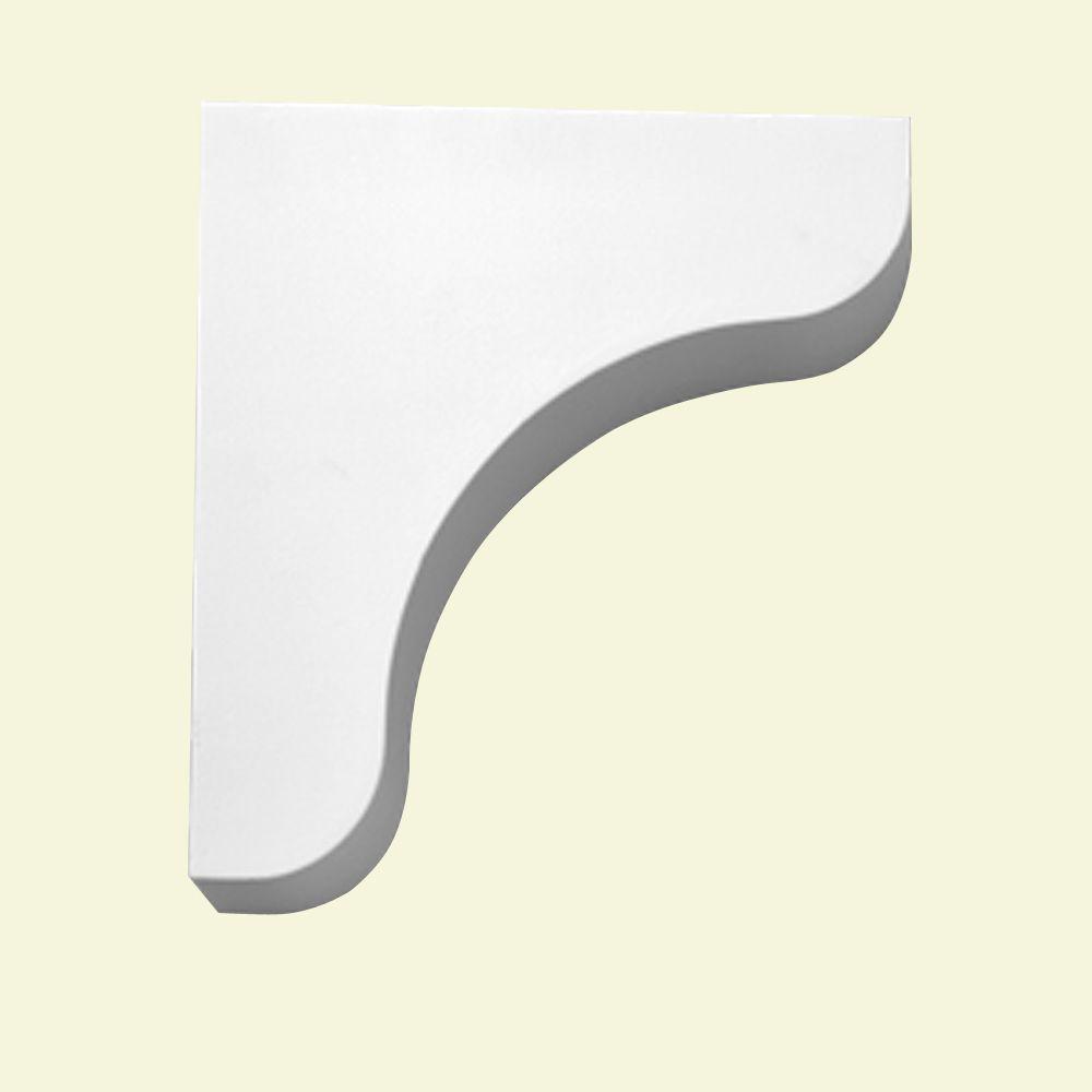 10-1/2 Inch x 11-1/4 Inch x 3 Inch Primed Polyurethane Bracket BKT10X11 in Canada