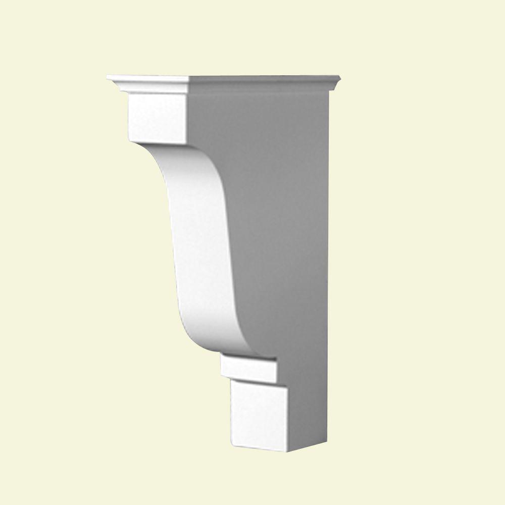 10 1/2-inch x 16 3/16-inch x 4 3/8-inch Primed Polyurethane Bracket