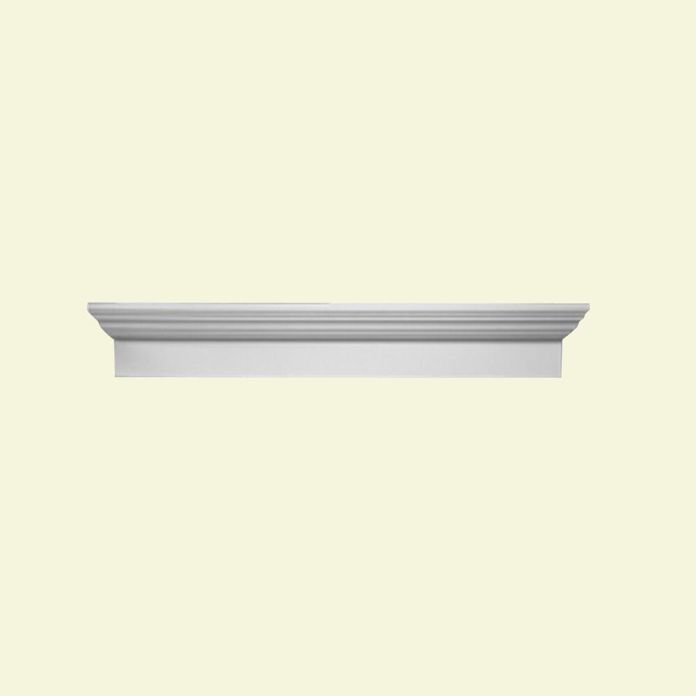 Linteau de porte/fenêtre en polyuréthane 80-1/2 po x 6 po