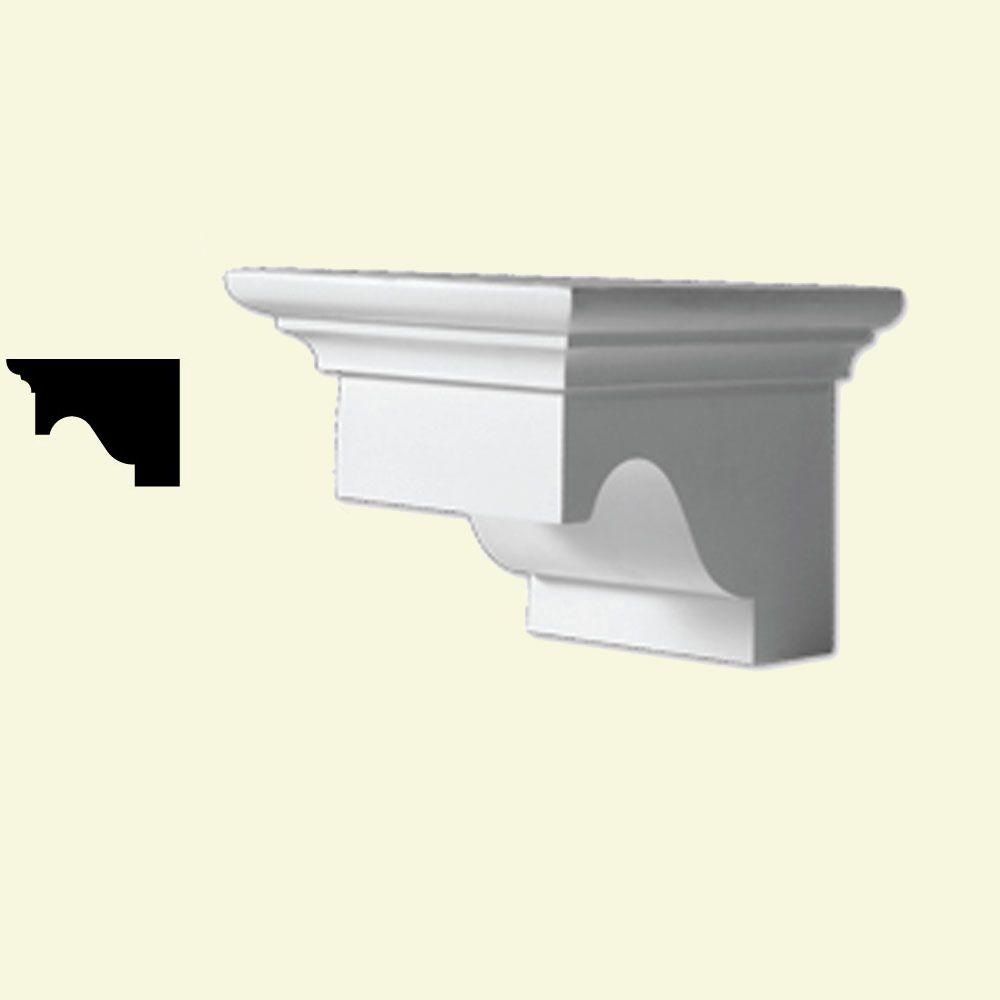 5-3/4 Inch x 5-1/2 Inch x 9-3/8 Inch Primed Polyurethane Dentil Block DTLB6X6X9 Canada Discount