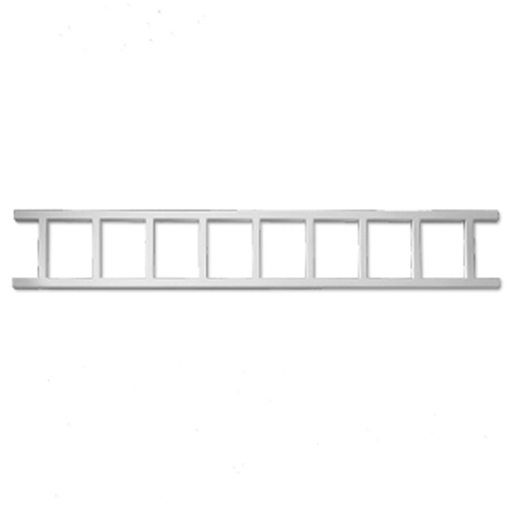 7 3/4-inch x 48-inch x 1-inch Smooth Polyurethane Porch Spandrel