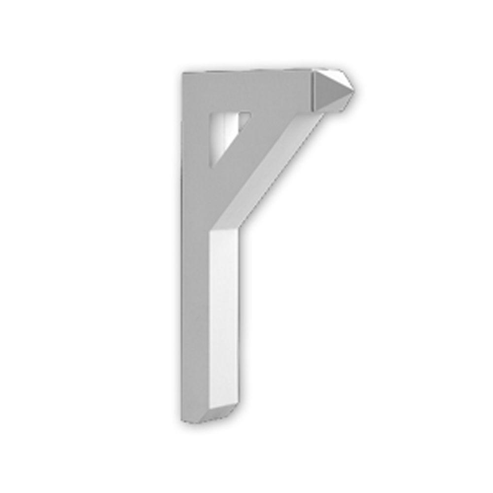 18-inch x 30-inch x 3 1/2-inch Primed Polyurethane Bracket