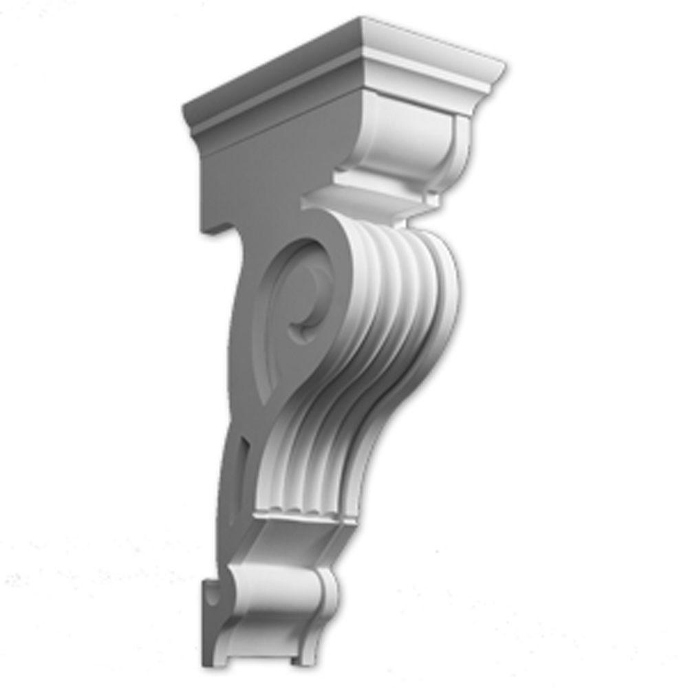 17 1/2-inch x 35-inch x 11-inch Primed Polyurethane Bracket
