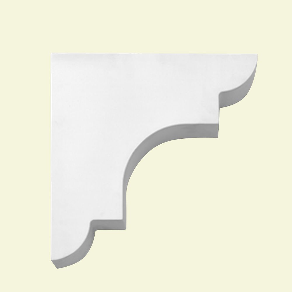 13-inch x 13-inch x 3 1/2-inch Primed Polyurethane Bracket