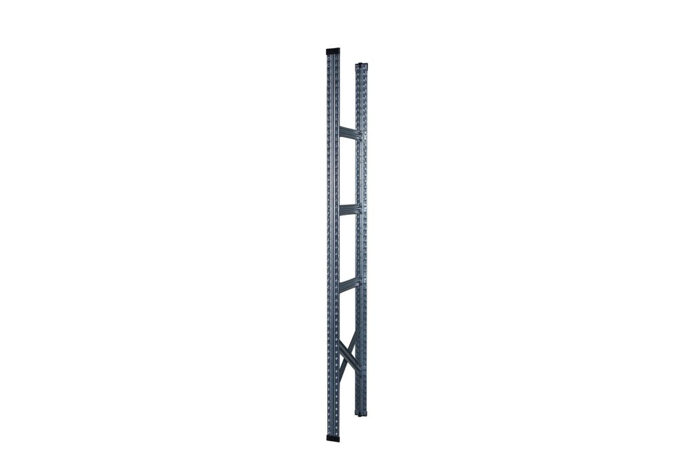 Metalsistem Complete Frame 78 Inch Height x 16 Inch Depth, Plastic Tops & Base Are Included