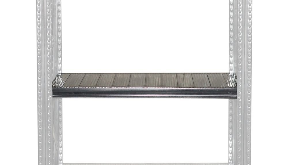 Metalsistem Complete Shelf 48 Inch Width x 16 Inch Depth, Safety Clips Are Included