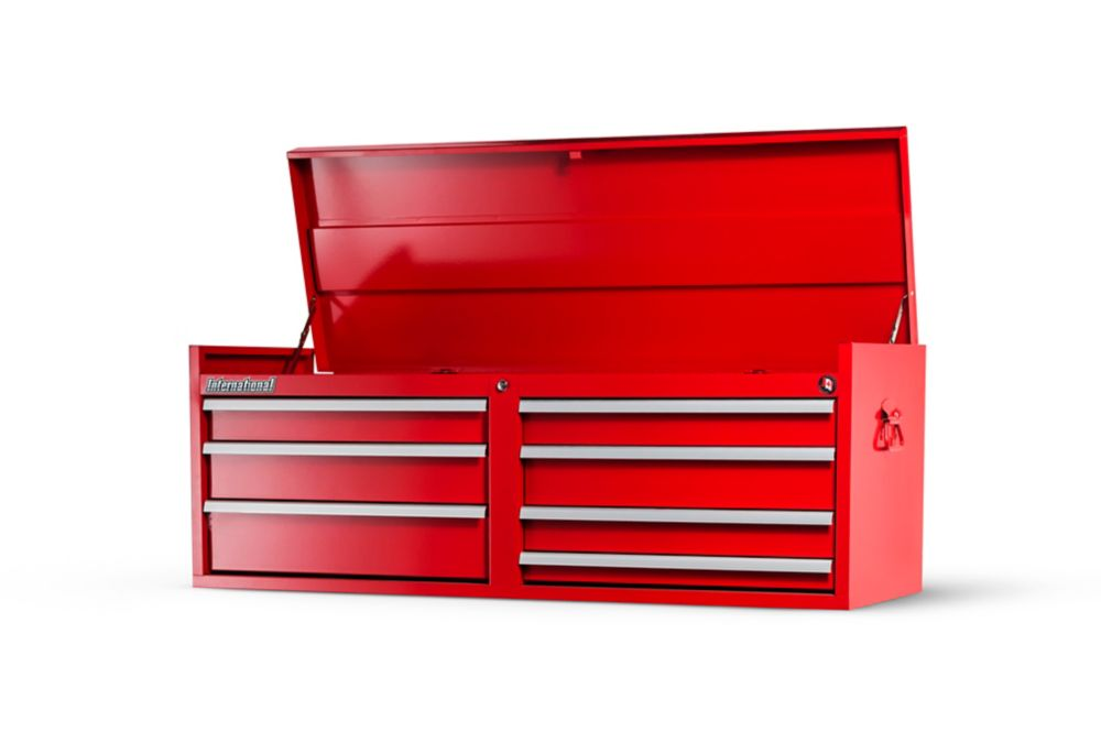 54 Inch. 7 Drawer Top Chest, Red WRT-5407RD Canada Discount