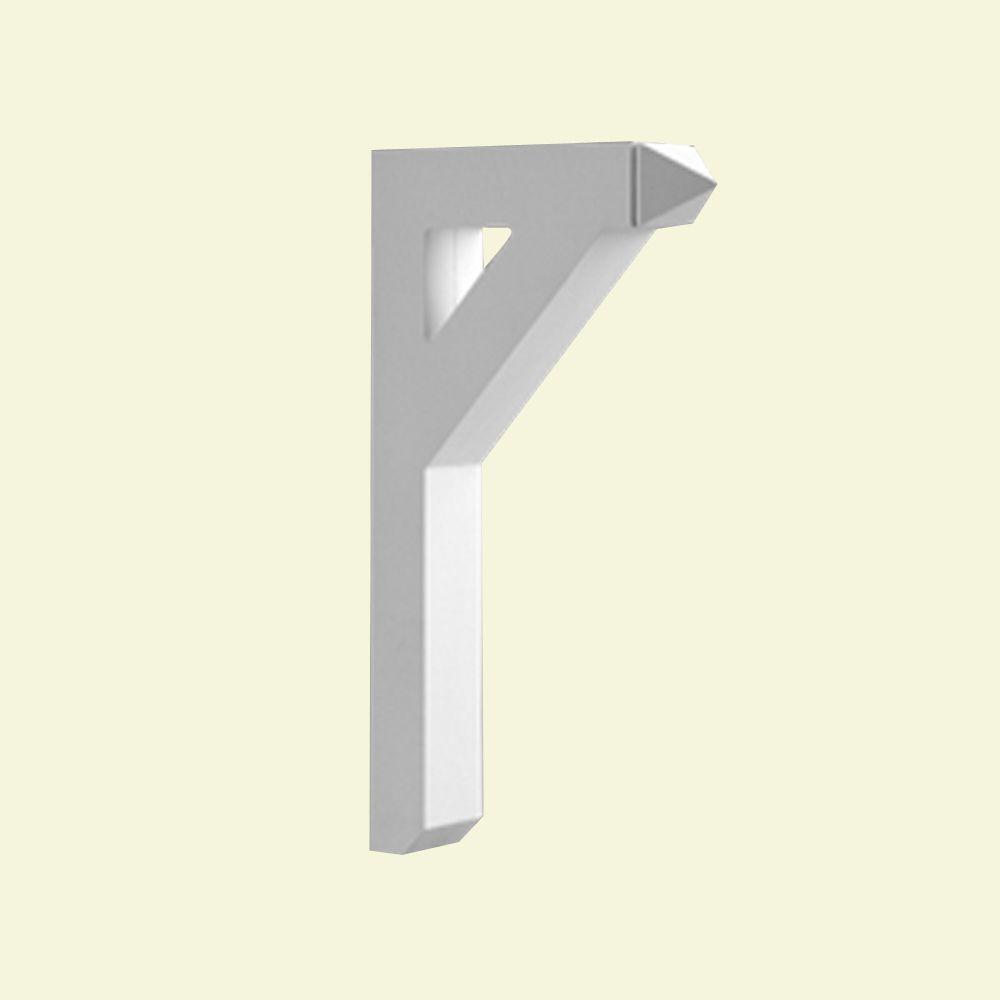 18 Inch x 3-1/2 Inch x 24 Inch Primed Polyurethane Bracket