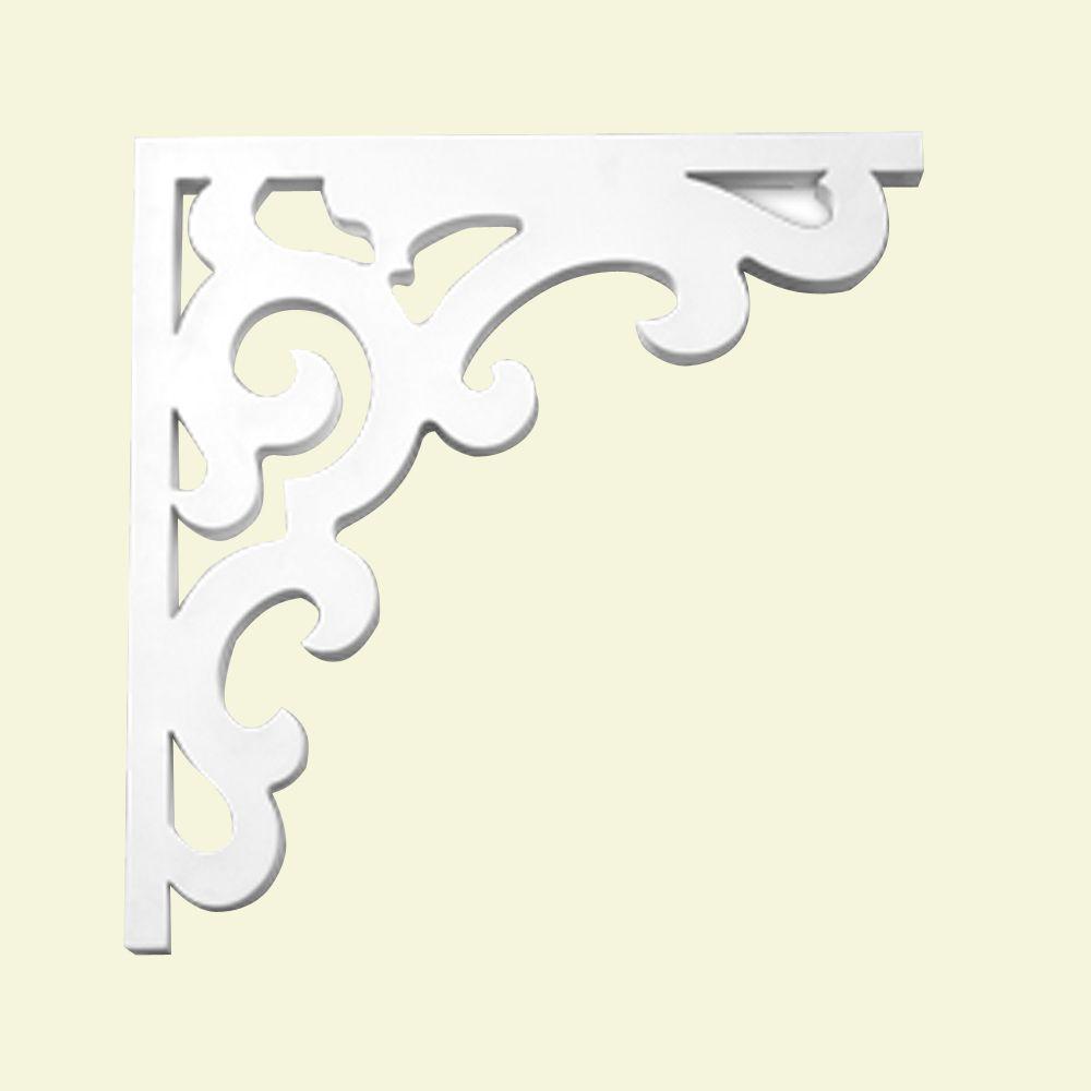 19 1/2-inch x 1 1/8-inch x 20-inch Primed Polyurethane Bracket