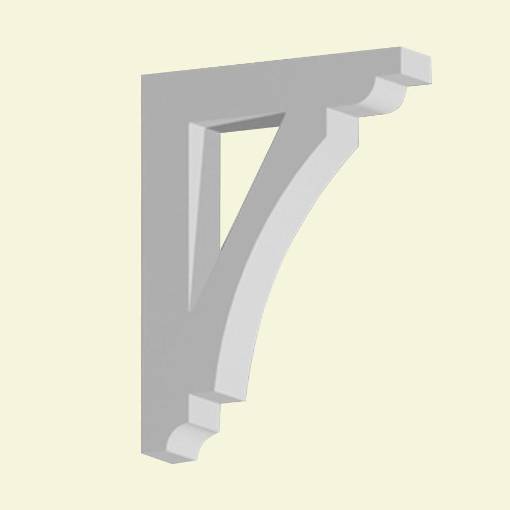 Console en polyuréthane apprêté 18-5/8 po x 4 po x 24 po