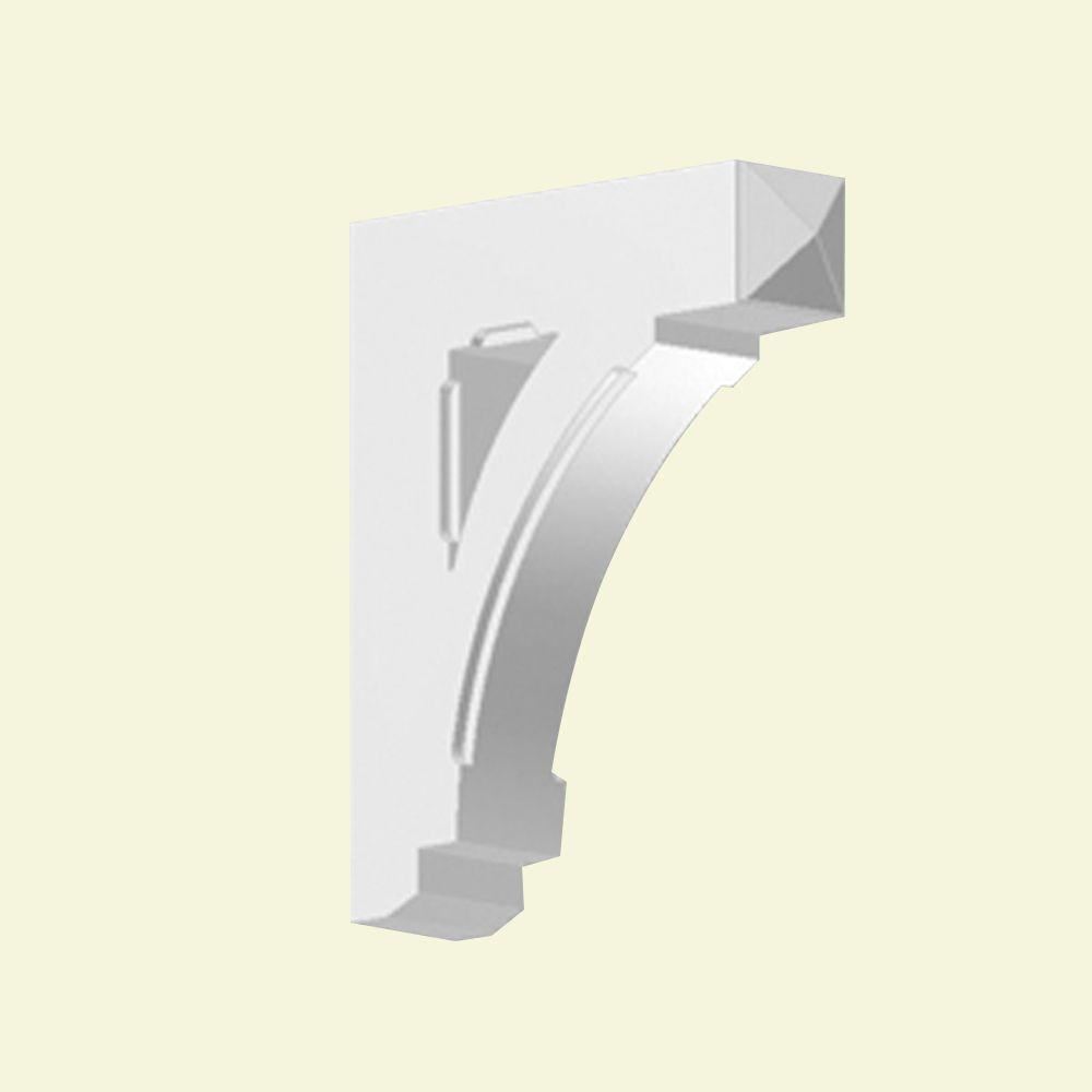 Console en polyuréthane apprêté 20 po x 5 po x 24 po