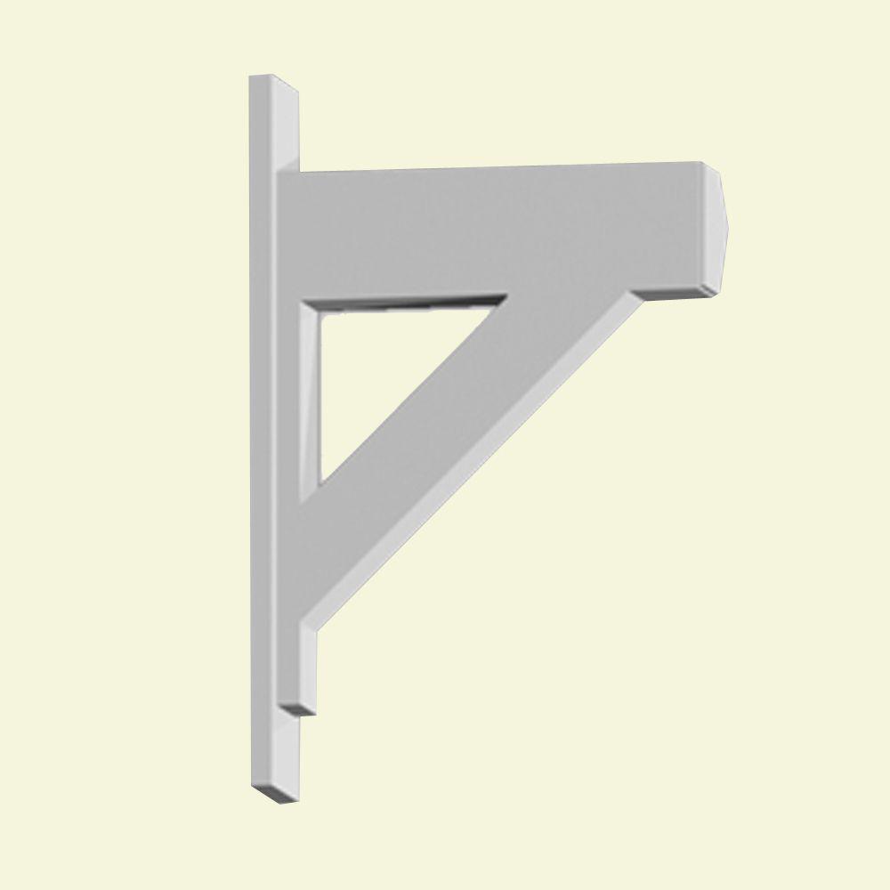 Console en polyuréthane apprêté 20 po x 5-1/2 po x 30 po