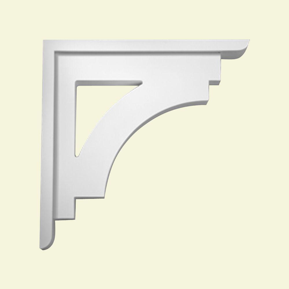 25-inch x 4-inch x 25-inch Primed Polyurethane Bracket