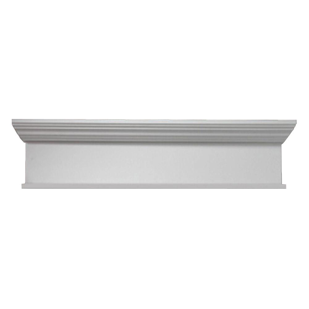 72 Inch x 10 Inch x 4-1/2 Inch Crosshead with Smooth Trim Bottom WCH72X10BT in Canada