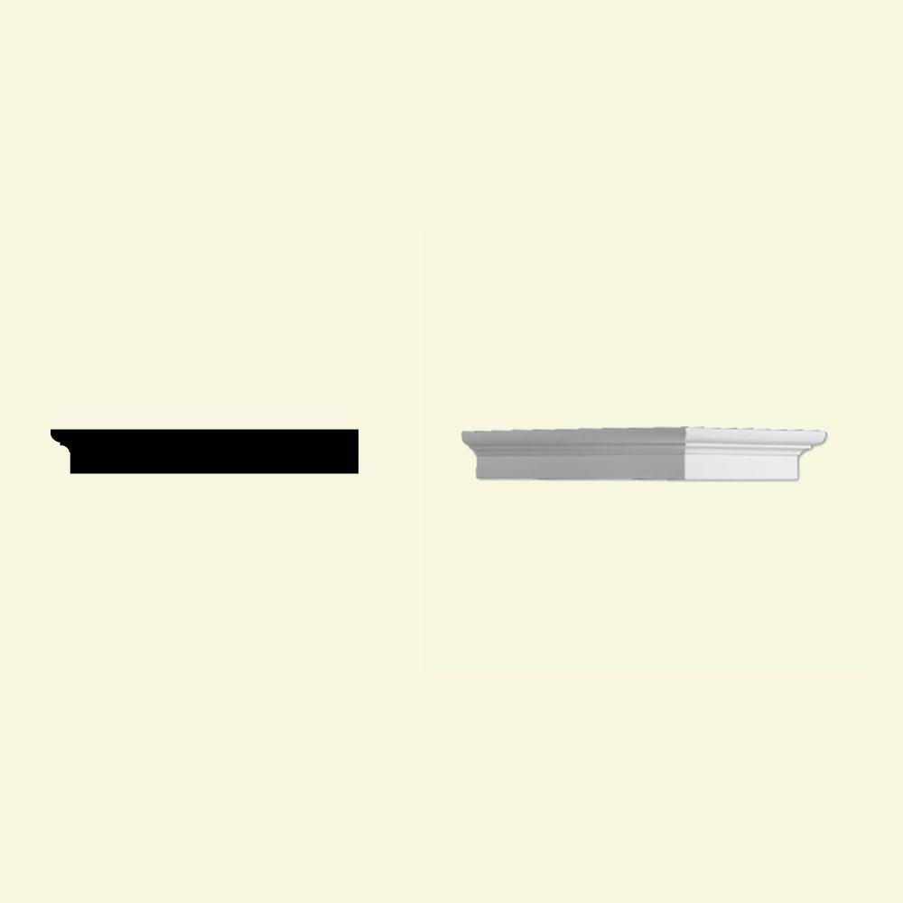 Bloc dentelé en polyuréthane apprêté 1-3/4 po x 7-1/2 po x 12 po
