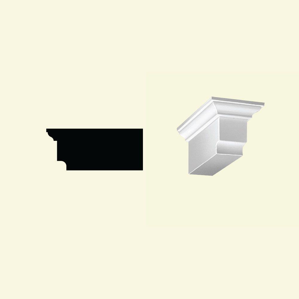 3 7/8-inch x 4 5/16-inch x 9-inch Primed Polyurethane Dentil Block
