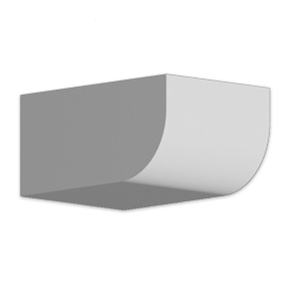 4 1/4-inch x 6-inch x 8 3/4-inch Primed Polyurethane Dentil Block