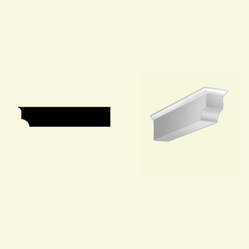 Bloc dentelé en polyuréthane apprêté 4-3/8 po x 4-3/8 po x 20-1/2 po