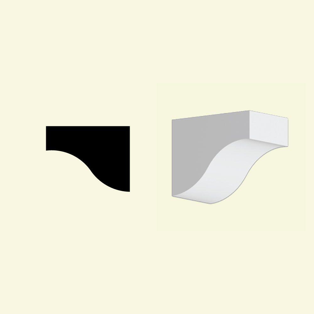 Bloc dentelé en polyuréthane apprêté 5-3/8 po x 4-3/8 po x 6-7/8 po