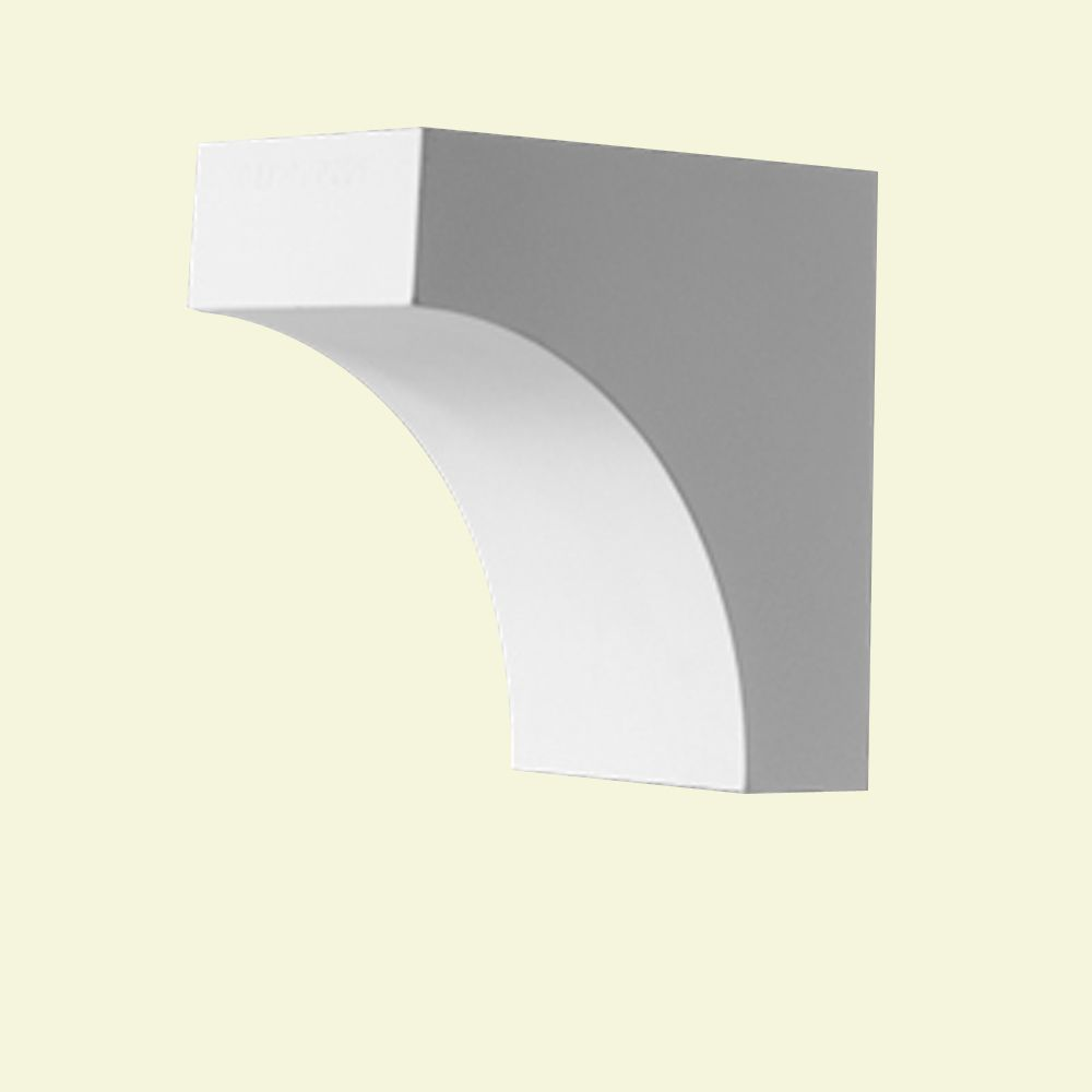 Bloc dentelé en polyuréthane apprêté 5-1/2 po x 3-1/2 po x 5-1/2 po