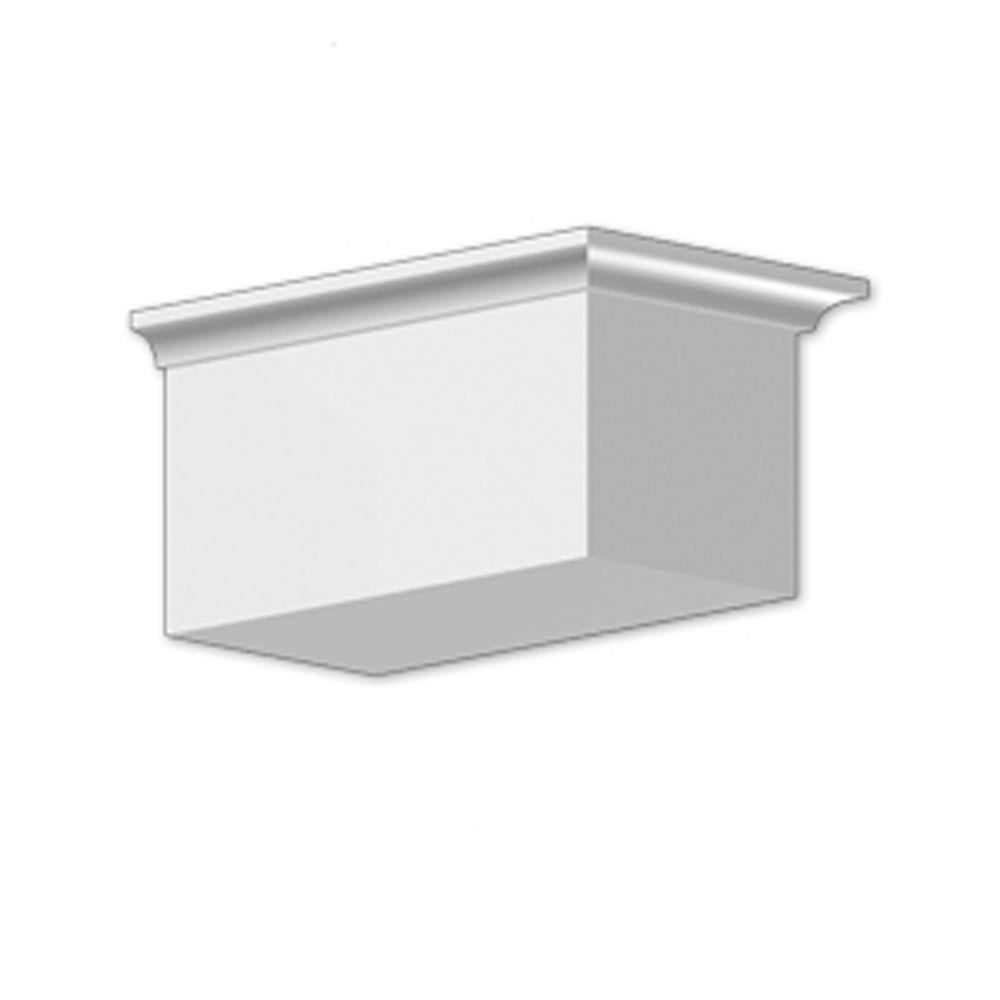 4 3/4-inch x 5 7/8-inch x 9 1/2-inch Primed Polyurethane Dentil Block
