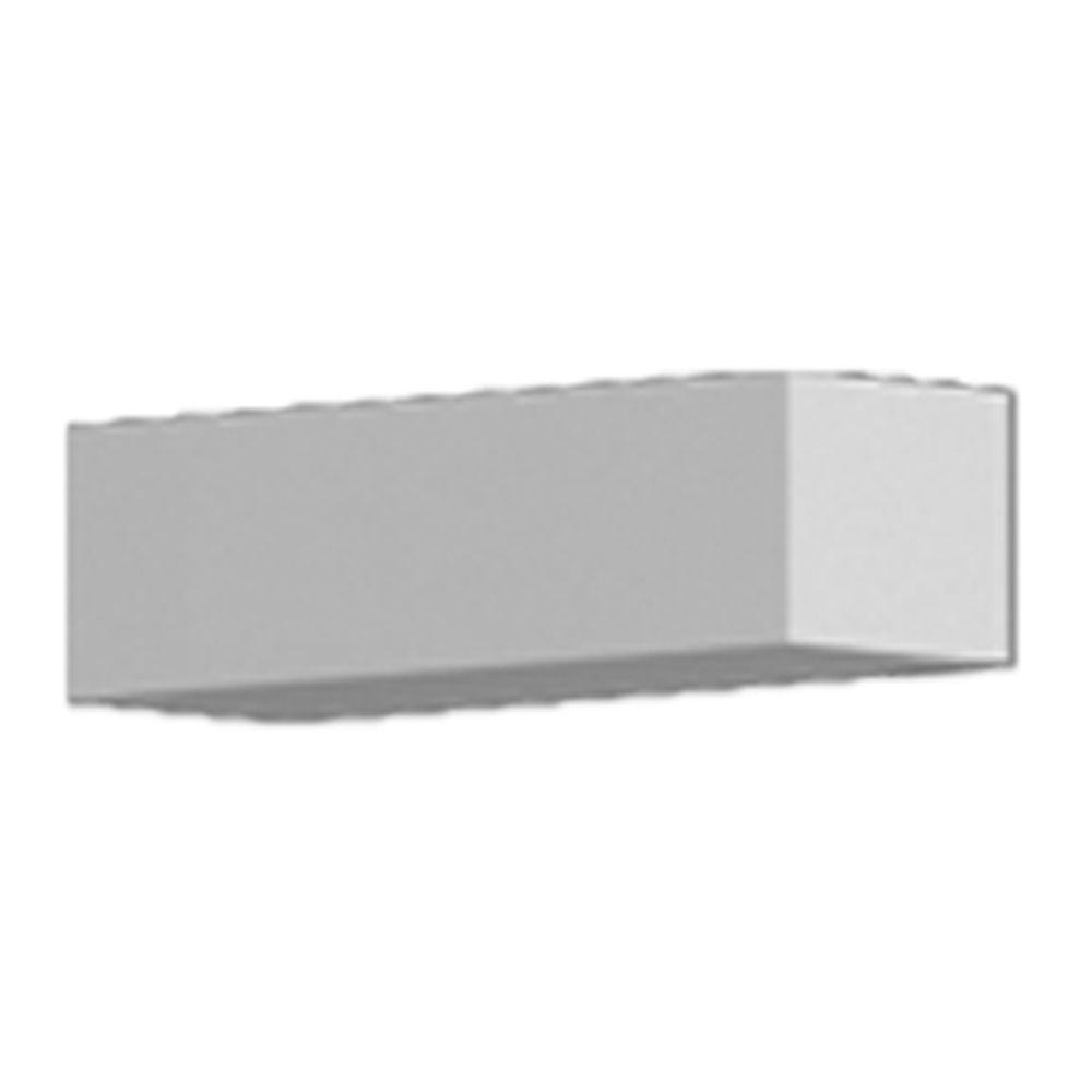 5 Inch x 6 Inch x 17-5/8 Inch Primed Polyurethane Dentil Block DTLB5X6X18 in Canada