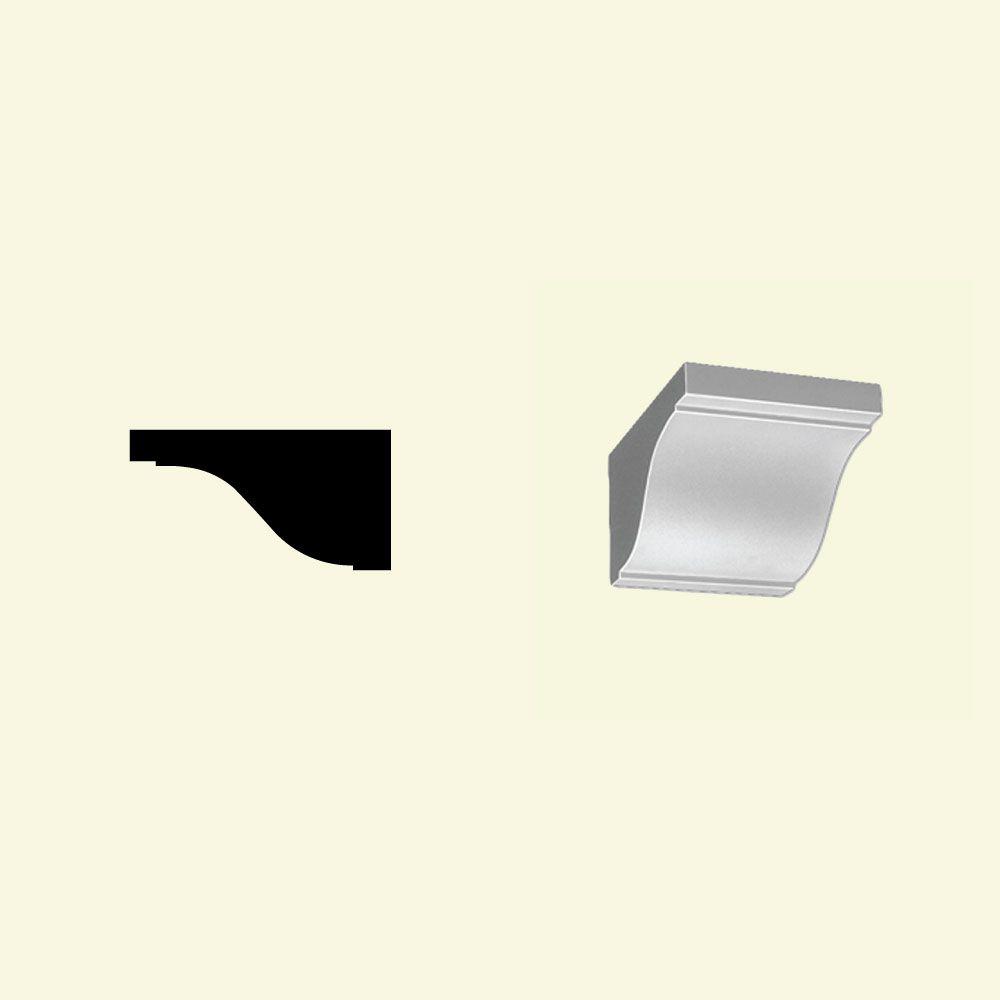 5-3/8 Inch x 7-7/8 Inch x 10 Inch Primed Polyurethane Dentil Block