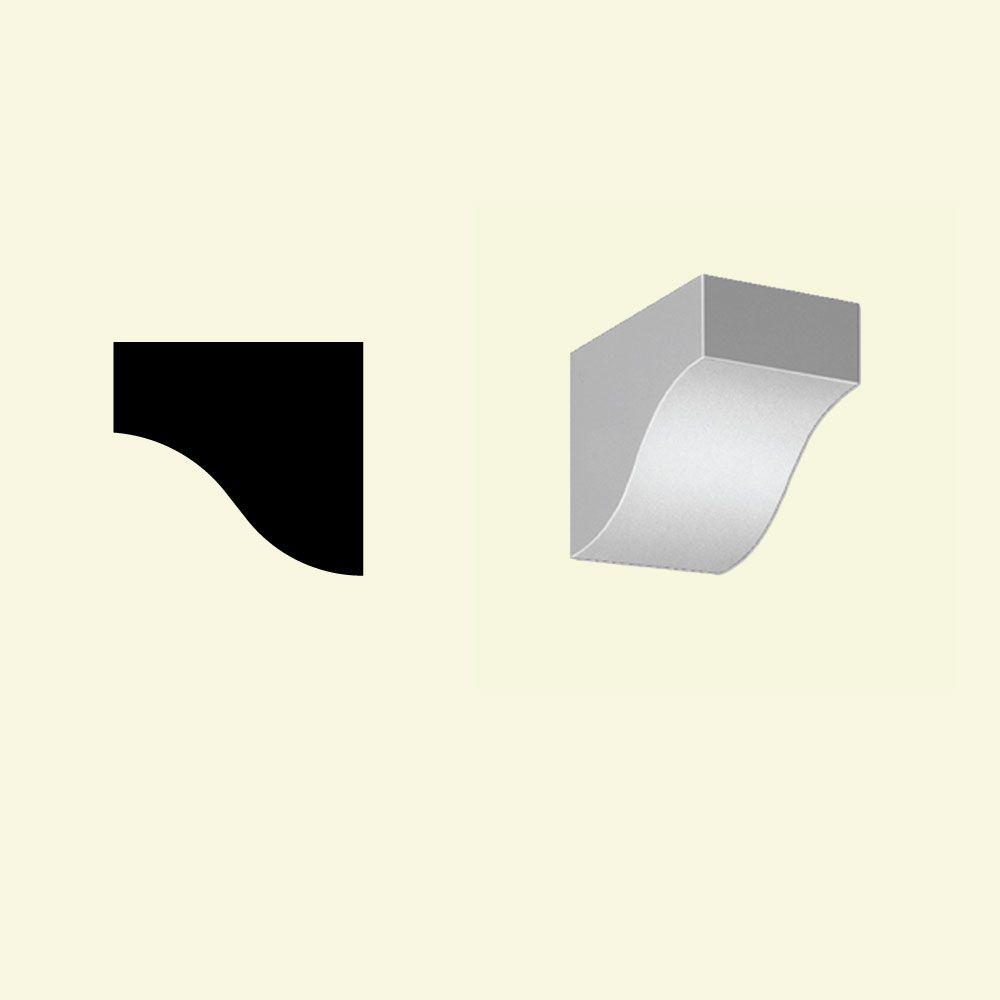 Bloc dentelé en polyuréthane apprêté 6-3/16 po x 4-7/8 po x 6-3/4 po