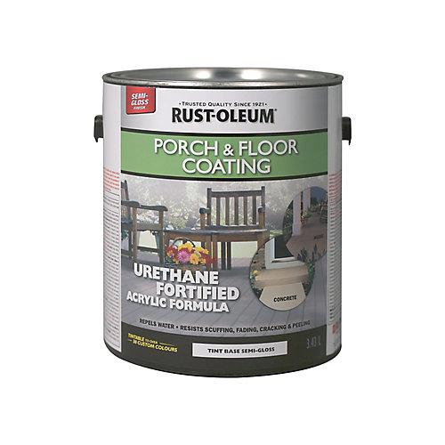 Porch & Floor Coating Semi-Gloss Tint Base, 3.43 L