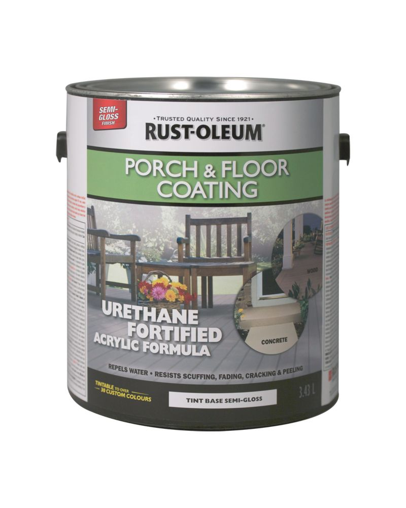 Rust-Oleum Porch & Floor Coating Semi-Gloss Tint Base