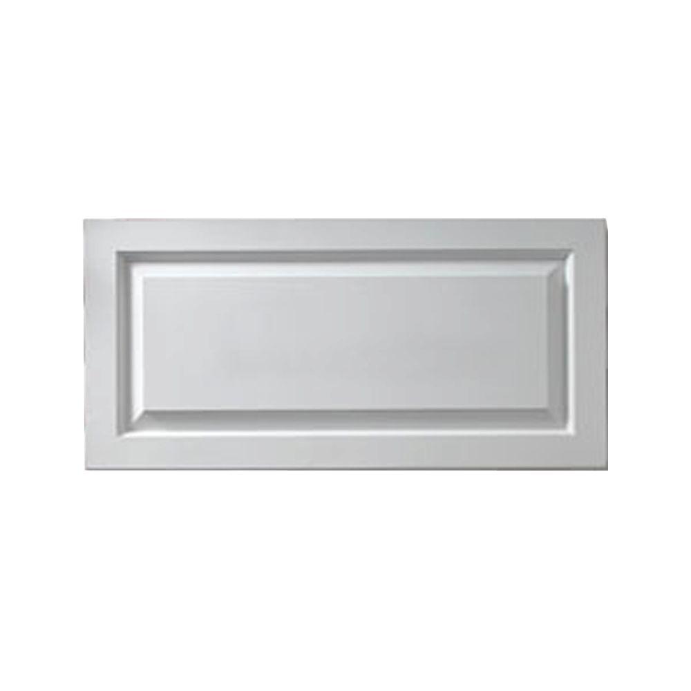 1-1/8 Inch x 12 Inch x 34-3/8 Inch Window Raised Panel Smooth Shutter