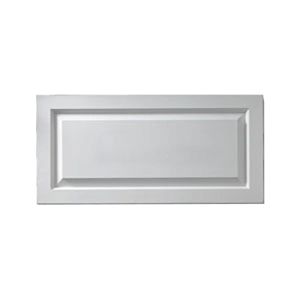1-1/8 Inch x 12 Inch x 36 Inch Window Raised Panel Smooth Shutter