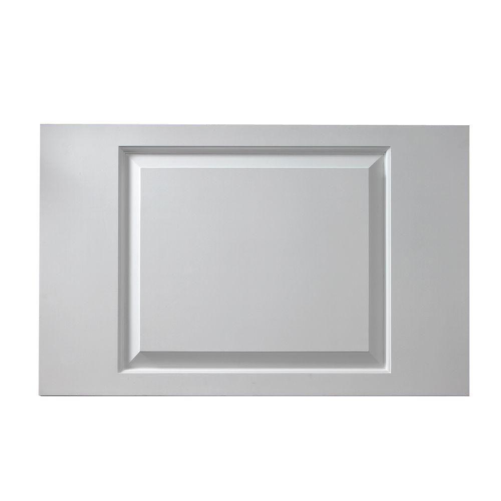 1-1/8 Inch x 13 Inch x 43 Inch Raised Panel Window Adjustable Smooth Shutter