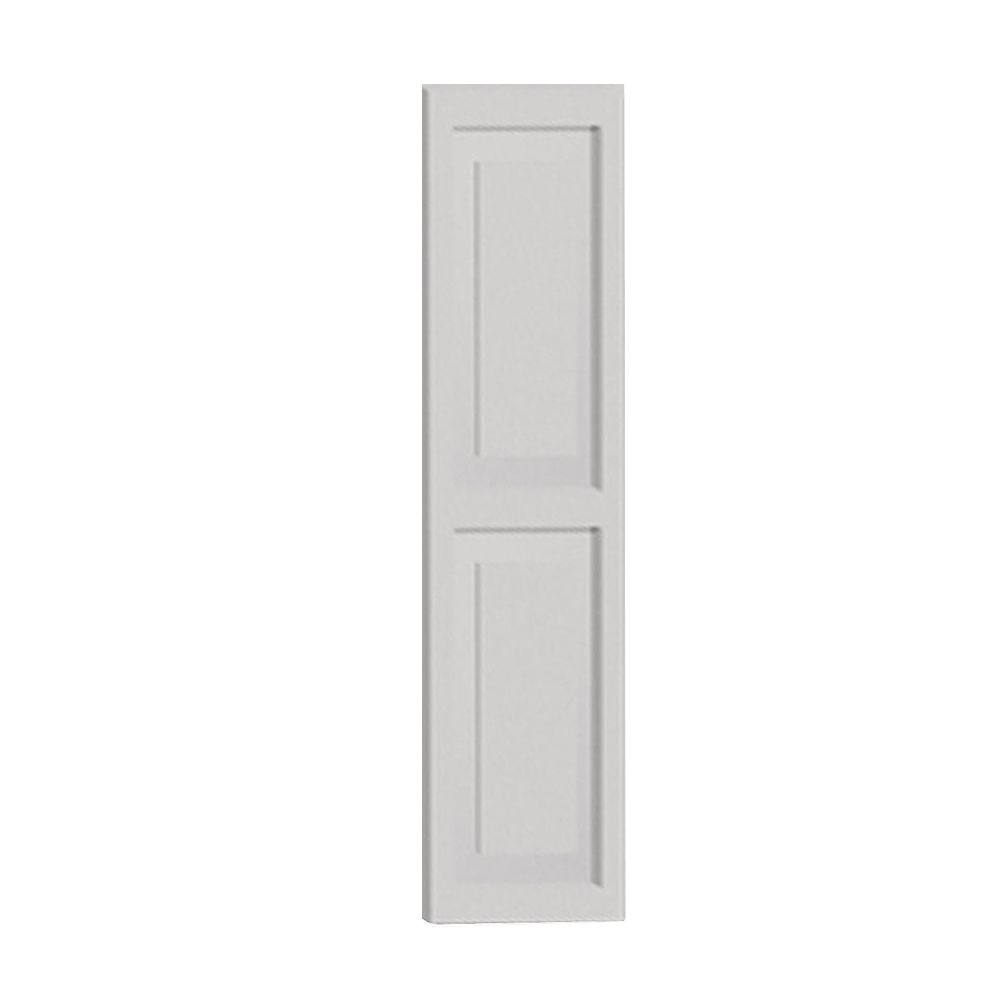 54 Inch x 16 Inch x 1-1/4 Inch Double Raised Panel Smooth Shutter