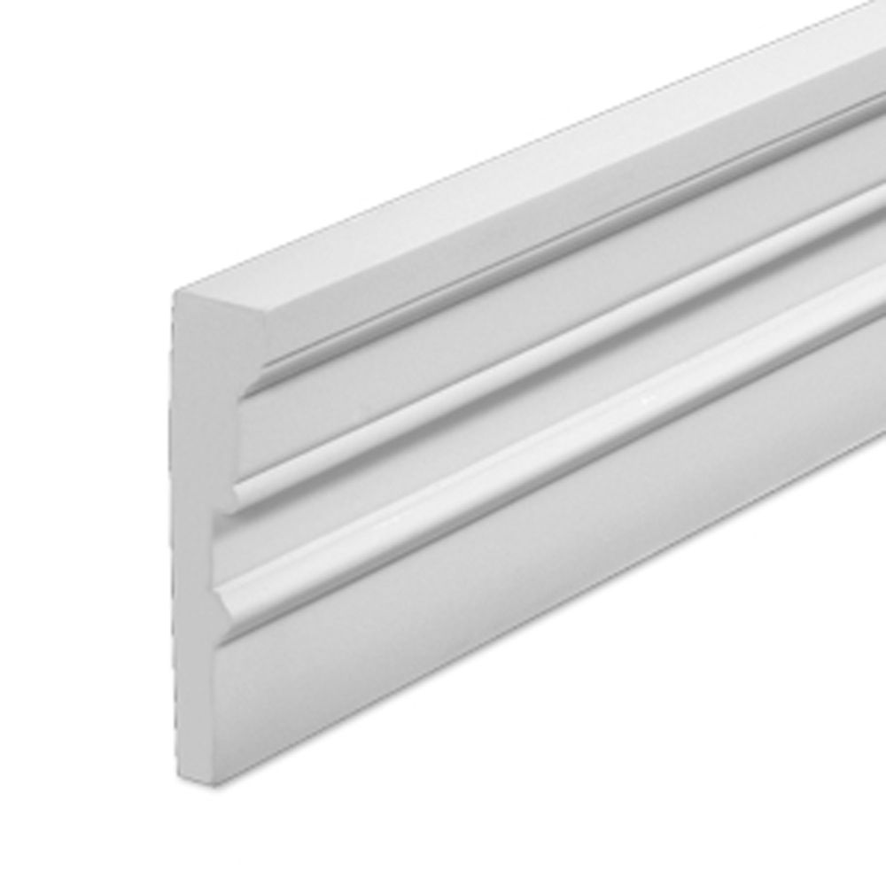 1-3/4 Inch x 7 Inch x 96 Inch Primed Polyurethane Window and Door Casing MLD221-8 in Canada