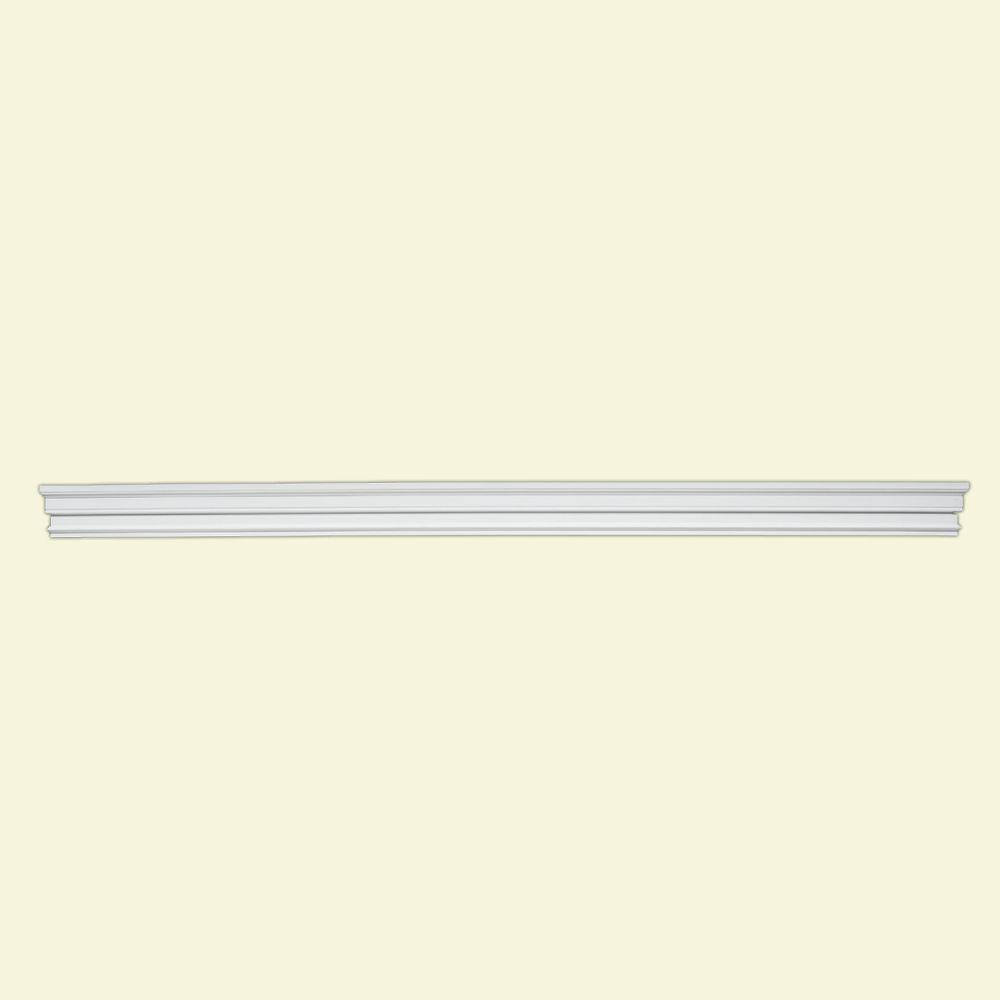 5-1/2 Inch x 96 Inch x 1-3/4 Inch Primed Polyurethane Window Crossette Sill