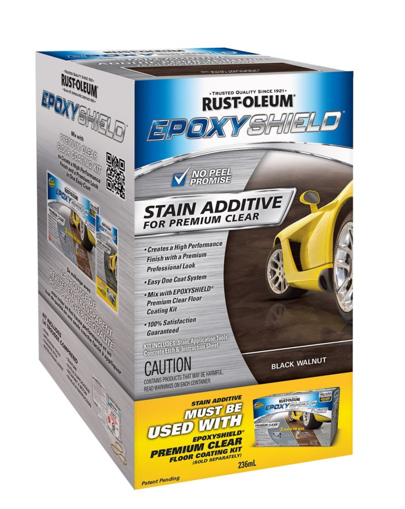 Epoxyshield Kit Stain Additive -  Black Walnut